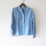 MARGARET HOWELL:コットンシルクシャツ